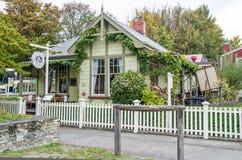 Postmasters mieścą restaurację w Arrowtown, Nowa Zelandia Obraz Stock