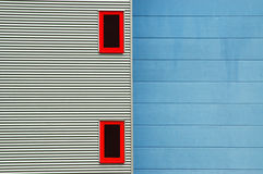 Postmodern house front Stock Photography
