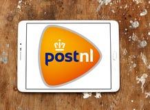 Postnl邮政运输商标 免版税库存照片