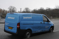 POSTNORD EXPRESS & COURIER Royalty Free Stock Photos