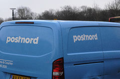 POSTNORD EXPRESS & COURIER Royalty Free Stock Photo