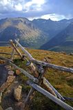 Posto alpino fotografie stock libere da diritti