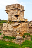 Posto antico Amrit di Tartus - della Siria Fotografie Stock