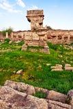 Posto antico Amrit di Tartus - della Siria Fotografia Stock Libera da Diritti