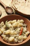 Posto de Aloo - um prato da batata de Bengal Imagem de Stock