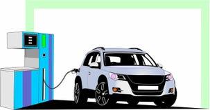 Posto de gasolina 1 Fotos de Stock Royalty Free