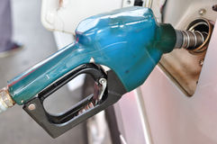 Posto de gasolina fotos de stock