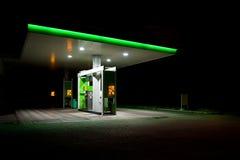 Posto de gasolina. imagens de stock royalty free