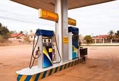Posto de gasolina. fotos de stock