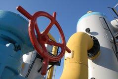 Posto de gasolina 3 Imagem de Stock