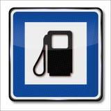Posto de gasolina Fotografia de Stock