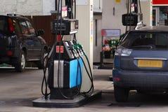 Posto de gasolina Fotografia de Stock Royalty Free