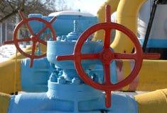 Posto de gasolina 7 Foto de Stock Royalty Free