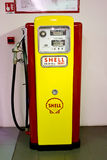 Posto de gasolina da gasolina Imagens de Stock Royalty Free
