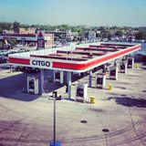 Posto de gasolina de Citgo imagem de stock