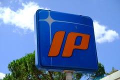 Posto de gasolina do IP Imagens de Stock Royalty Free