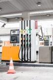 Posto de gasolina vazio Fotos de Stock Royalty Free