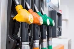 Posto de gasolina vazio Fotografia de Stock Royalty Free