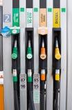 Posto de gasolina vazio Foto de Stock Royalty Free