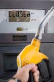 Posto de gasolina vazio Imagem de Stock Royalty Free