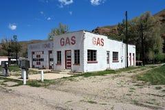 Posto de gasolina velho Imagem de Stock Royalty Free