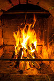 Posto del fuoco Fotografie Stock Libere da Diritti