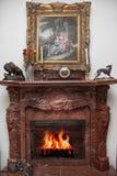 Posto del fuoco Fotografie Stock