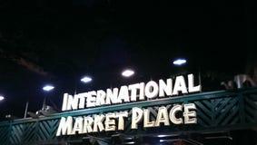 Posto del mercato internazionale Immagine Stock