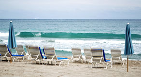 Posto della spiaggia Fotografie Stock