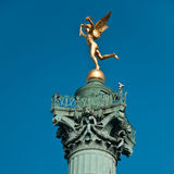 Posto delle Bastille a Parigi Fotografie Stock
