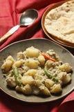 Posto di Aloo - un piatto della patata dal Bengala Fotografie Stock