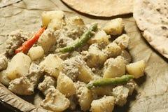 Posto di Aloo - un piatto della patata dal Bengala Immagine Stock Libera da Diritti