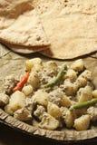 Posto di Aloo - un piatto della patata dal Bengala Immagine Stock