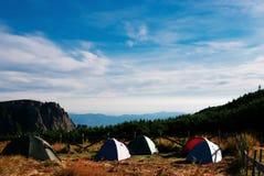 Posto di campeggio immagine stock
