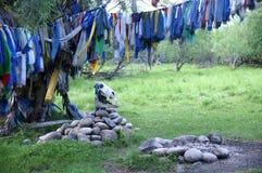 Posto di ceremonial dello sciamano Fotografia Stock Libera da Diritti