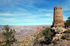 Posto di guardia al grande canyon Immagine Stock Libera da Diritti