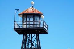 Posto di guardia di Alkatraz Fotografia Stock