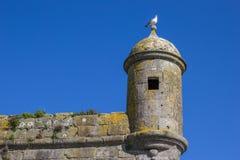 Posto di guardia della fortezza a Viana do Castelo Immagini Stock Libere da Diritti