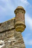 Posto di guardia di vecchia fortezza Immagine Stock