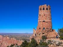 Posto di guardia di vista del deserto, parco nazionale di Grand Canyon Immagine Stock