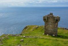 Posto di guardia vicino alla lega di Slieve, contea il Donegal, Irlanda fotografia stock libera da diritti