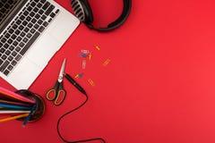 Posto di lavoro creativo Immagine Stock