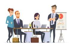 Posto di lavoro dei responsabili del gruppo Esperto lavorante nel gruppo dell'uomo d'affari analizzare la gente professionale deg royalty illustrazione gratis
