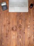 Posto di lavoro nell'ufficio Fotografie Stock