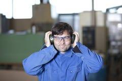 Posto di lavoro rumoroso Immagini Stock Libere da Diritti
