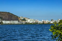Posto di lusso della laguna Scopra la bellezza della lan immagine stock