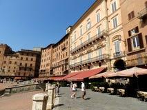 Posto di Palio a Siena fotografia stock