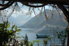 Posto di pesca in Monrenegro Fotografia Stock Libera da Diritti