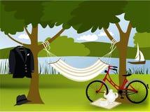Posto di picnic Immagini Stock