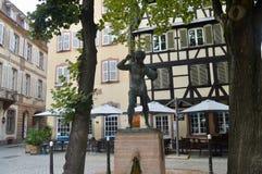 Posto di Strasburgo, l'Alsazia, Francia Immagini Stock